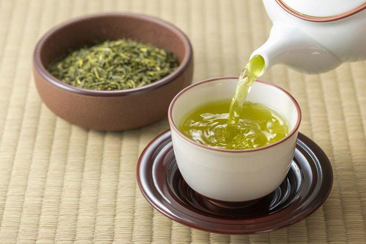 té verde en ayunas
