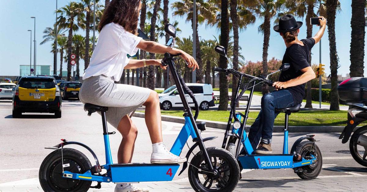 ventajas un patinete eléctrico con asiento
