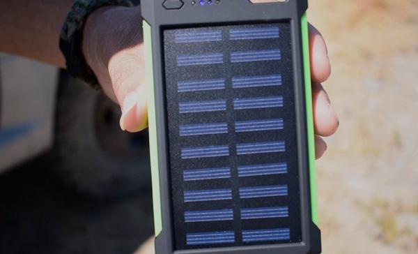 mejores cargadores solares para móvil
